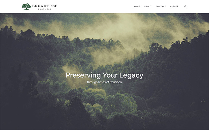 Broadtree Partners Website Design