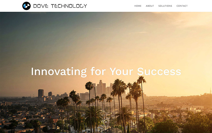 Dove Technology Website Design