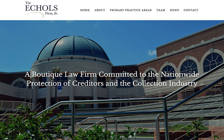 The Echols Firm Website Design