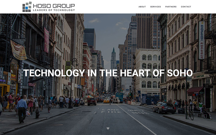 The Hoso Group Website Design