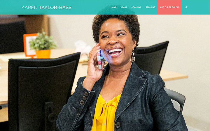 Karen Taylor Bass Website Design