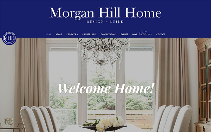Morgan Hill Home Website Design