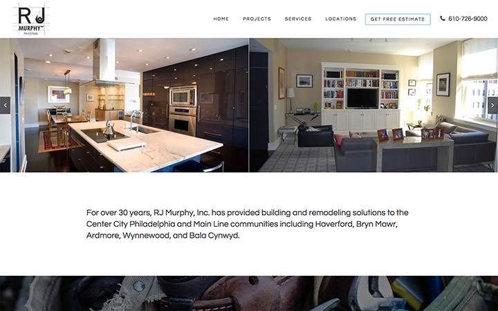 RJ Murphy Website Design